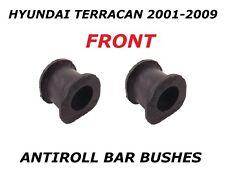 FOR HYUNDAI TERRACAN 2.5 TD 2.9 3.5 CRD FRONT ANTIROLL STABILISER BAR D BUSHES
