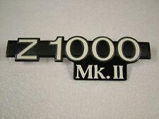 KAWASAKI Z1000 Mk II A3-'79, A4-'80 SIDE COVER BADGE