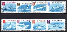 Romania - 1962 Boat sports Mi. 2048-55 FU