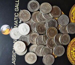 India-republic 1 Rupee, 1989, 100th Anniversary -Nehru's Birth 35 coins: KM # 83