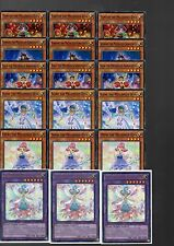Yugioh Cards - 18 Card Melodious Deck Core With Holo MP16 1st Ed New