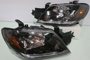 For Mitsubishi Outlander 2003-2005 Front Head Lights Lamp 1 PAIRS Left + Right