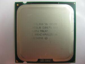 1x   Intel Core 2 Duo E8400, 3.00GHz, Dual Core Processor, Socket LGA 775, SLB9J