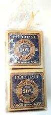 L'Occitane Savon Extra-Doux Vanille Bourbon 3.5 oz. Gentle Bar Soap - Set of 4