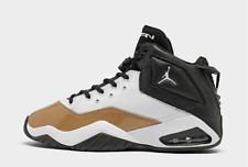 MEN'S Nike JORDAN B'LOYAL BASKETBALL SHOES White/ Black/ Gold NEW CT1603-100