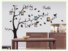 Removable Vinyl Wall Decal Family picture frame tree Sticker Home  DIY Decor