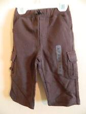 NWT baby Gap boy brown cargo style pants w/4pockets; size 6-12m
