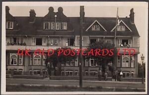 Kent - TANKERTON, WW1 Military Hospital,  Marine Parade, Real Photo, 1915