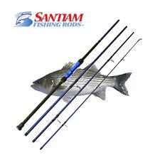 "SANTIAM FISHING RODS 4 PC 11'0"" 17-40LB SURF SPINNING ROD ALASKAN TRAVEL SERIES"