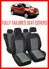 Car seat covers for NISSAN QASHQAI  2007 - 2013 Tailored seat covers full set -2