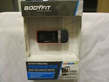 BODYFIT ACTIVITY TRACKING PEDOMETER  SPEED CALORIE EXERCISE TIMER STEP COUNTER