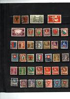 38 timbres de Suisse entre 168 et 211