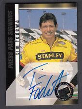 Autograph Original Press Pass 2000 Auto Racing Trading Cards