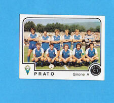 PANINI CALCIATORI 1980/81 - Figurina n.396- SQUADRA/TEAM - PRATO -NEW