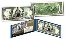 1896 EDUCATIONAL SERIES Designed NEW Legal Tender Modern Two-Dollar $2 Bill COA