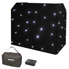 Equinox DJ Booth LED Starcloth in White EQLED12B