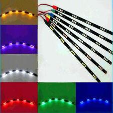 2x 30CM 5050 15Leds 12V LED Strip Light For Car Interior/Exterior Decoration DIY