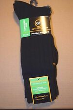 GOLD TOE MENs DRESS Crew Socks Extended Size XL 13-15  3 Pair Pack Bamboo