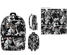 DC COMIC Suicide Squad Characters Allover Sublimated Laptop Backpack NEW