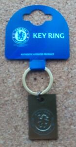 Chelsea FC Antique Look Metal Keyring (Official Merchandise) - FREE POSTAGE!