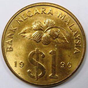 C004-35 TO 37 # MALAYSIA | 1 RINGGIT, 1990, VF