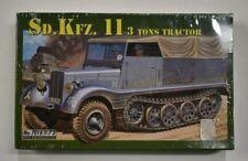 Lot 10-130 * Italeri 1:72 Scale kit No. 7016, Sd.Kfz.11 3 Ton Tractor