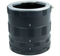Macro Extension Tube For Sony Alpha a99 II, a99, DSLR-A580, A560, A390, A290