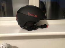 Bolle Synergy Ski Helmet - Soft Black, 59 - 61 Cm