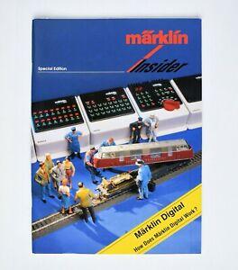 Märklin Insider magazine 1998 Special Edition English Version - Märklin Digital