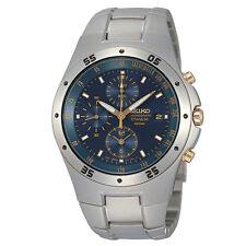 Reloj Pulsera SQNP SND449P1 Seiko Hombre Titanium Cronógrafo Fecha
