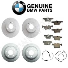 For BMW F30 320i Front and Rear Disc Brake Rotors & Pads & Sensors Genuine Kit