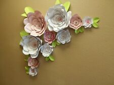 """12 GIANT FLOWERS 18"""" FULLY ASSEMBLED WEDDING PHOTO BACKDROPS MADE IN USA."""