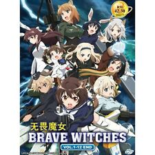 Brave Witches Vol. 1-12 end Japanese Anime DVD + English subtitles