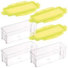Genius Nicer Dicer Magic Cube Gourmet | 6 Teile | Gelb | Auffangbehälter | NEU