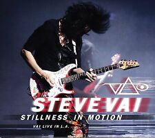 NEW 2CD BOX SET // Steve Vai - STILLNESS IN MOTION // LIVE IN L.A. 2O12 - 22 TRA