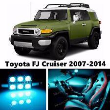 9pcs LED ICE Blue Light Interior Package Kit for Toyota FJ Cruiser 2007-2014