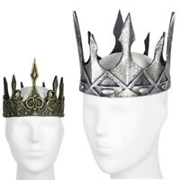 Cool Vintage Royal Medieval King Crown Halloween Cosplay XMAS Party Costume Gift
