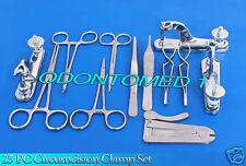 25 PC Circumcision Clamp Set Instruments Surgical Urology Amazing unique DS-874