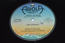 "AMII STEWART Knock on Wood 12"" Single 1979 Ariola Records Canada Disco VG AR9000"
