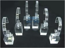Wholesale Lot Bulk Lot of 6 pieces Bracelet or Watch Acrylic Display Stands