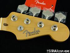 "Fender American Original 50s Precision P Bass NECK + TUNERS USA Maple Thick ""C"""