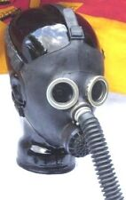 Gasmaske Hannibal Black Style Gummi Poppers Halloween Dark Room Gr.54-56
