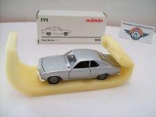 Opel Manta A , 1970, silver, Märklin 1:43, OVP
