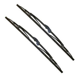 All Seasons 18 INCH + 18 INCH Premium Windshield Wiper Blades Gray Carbon Fiber