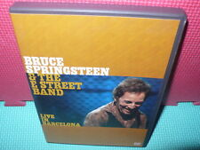 BRUCE SPRINGSTEEN - EDIC.2 DVDS - LIVE IN BARCELONA