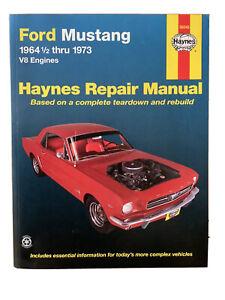 Ford Mustang Haynes Repair Manual 1964 to 1973