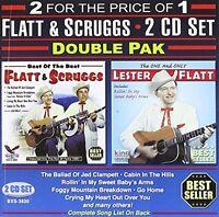 Flatt & Scruggs, Lester Flatt - Double Pak [New CD]