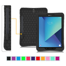 "For Samsung Galaxy Tab S3 9.7"" Silicone Case ShockProof Cover w/ S Pen Holder"