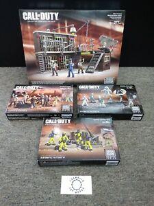 Mega Bloks Call of Duty Mob of the Dead 06857, Hazmat, Zombies Horde 06881 Lot