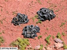 Hay Brothers SCRAP AUTO/TRUCK TIRE PILES (3 Pre-painted piles per package)